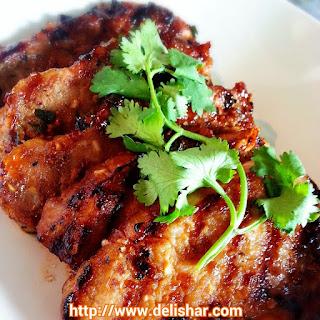 Grilled Vietnamese Pork Chops.