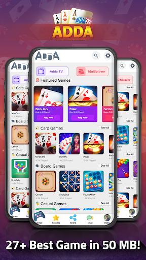 Adda : Rummy , Callbreak ,Solitaire & 29 Card Game 9.12 screenshots 1