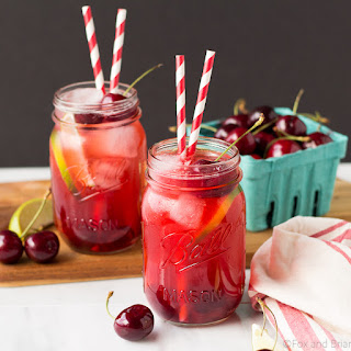 Sparkling Cherry Limeade.