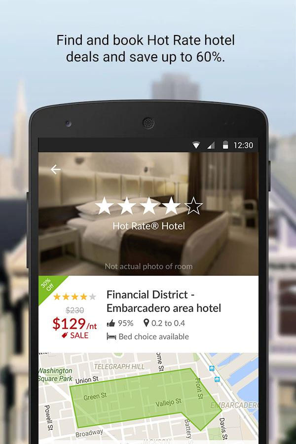 Hotwire Hotel & Car Rental App- screenshot