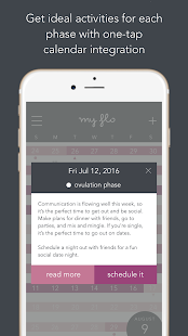 MyFLO Period Tracker- screenshot thumbnail