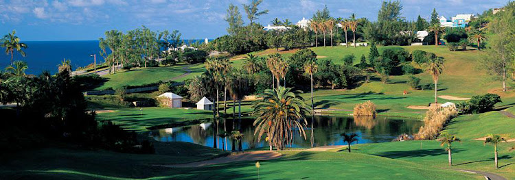 Turtle Hill features 18 challenging par 3 holes, most with stunning views of the Atlantic.