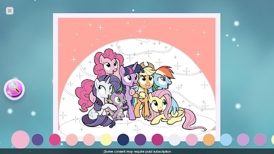 My Little Pony Color By Magic MOD APK [VIP Enabled, Unlimited Apples] 8