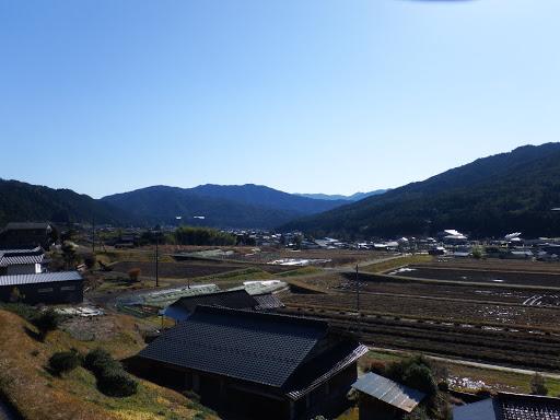 法禅寺付近からの眺め