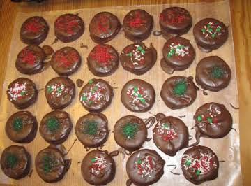 Cracker Coin Cookies
