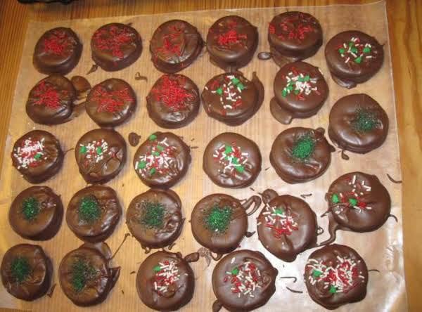 Cracker Coin Cookies Recipe