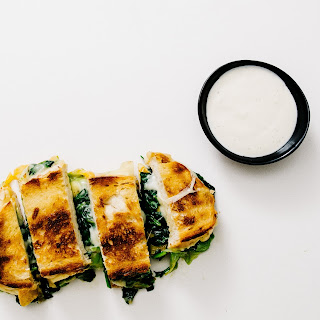 Green Grilled Cheese and Ranch Dippers.