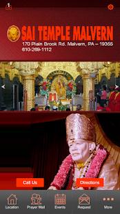 Sai Temple Malvern App - náhled