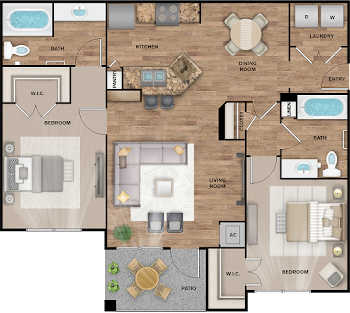 Go to Bloomsbury Floorplan page.