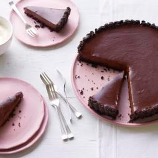 Salted Chocolate Tart.