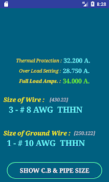 Download nec wire size calculator full apk latest version app for nec wire size calculator full poster greentooth Choice Image