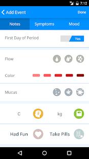 Menstrual Calendar- screenshot thumbnail