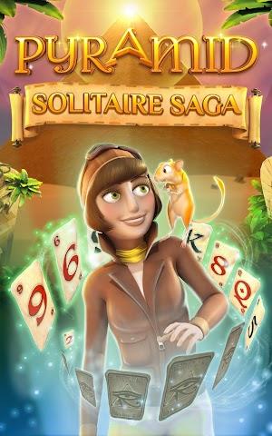 5 Pyramid Solitaire Saga App screenshot