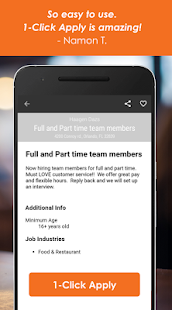 Find Jobs with Snagajob- screenshot thumbnail