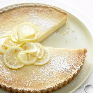 Baked Lemon Ricotta Tart Recipe