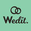 מארגנים חתונה -Wedit download