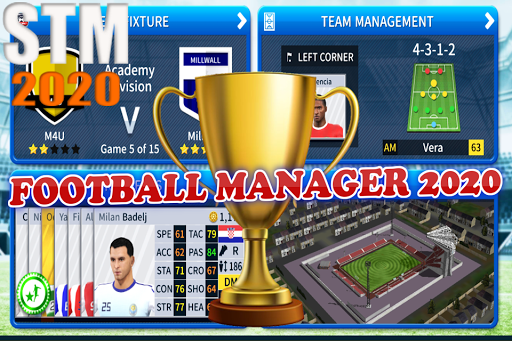Soccer Top Manager 2020 - Parties de football APK MOD – Monnaie Illimitées (Astuce) screenshots hack proof 2