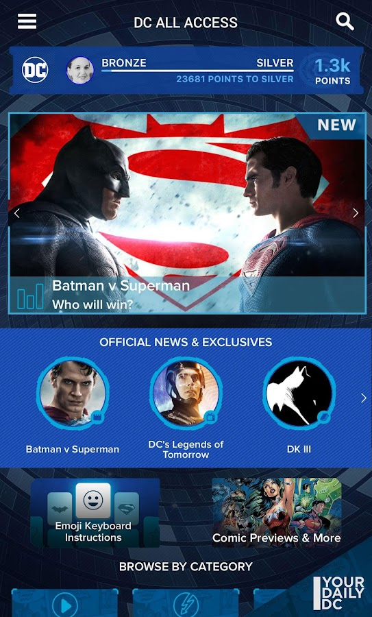 DC All Access- screenshot