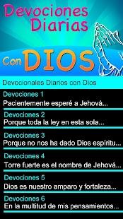 Devocionales Diarios con Dios - náhled