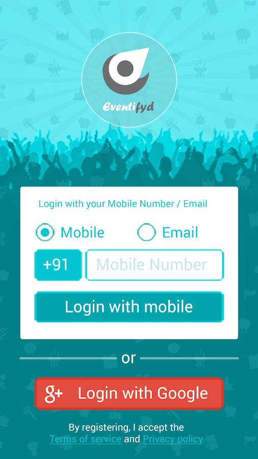 Eventifyd - Craft your event- screenshot