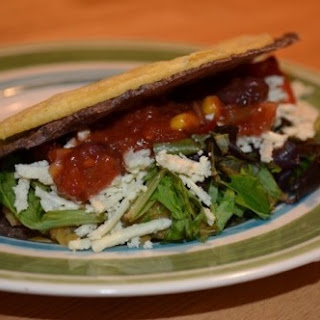 Double Decker Lentil Tacos