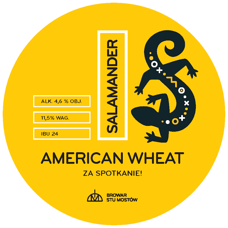Logo of Salamander American Wheat