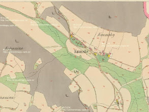 Photo: Mapa stabilniho katastru z 19.stoleti. Starousedlici si grunt snadno najdou.