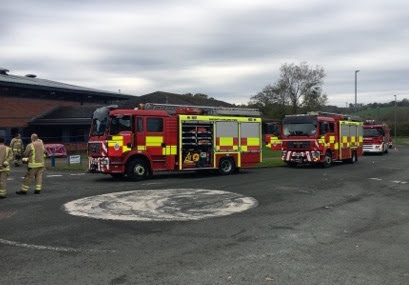 Fire fighters tackle Dynacast blaze