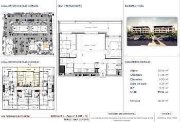 appartement à Venzolasca (2B)