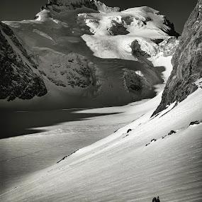 by Eden Meyer - Black & White Landscapes ( mountain, white, landscape, black )