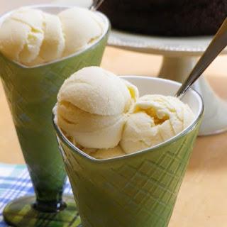 Buttermilk Ice Cream.