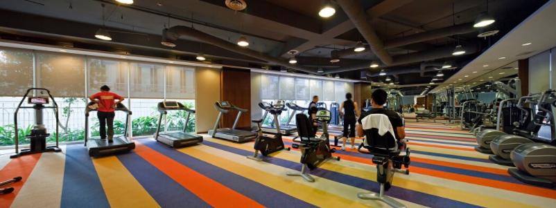 The Manansala, Makati fitness gym