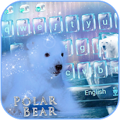 Polar bear Keyboard Theme