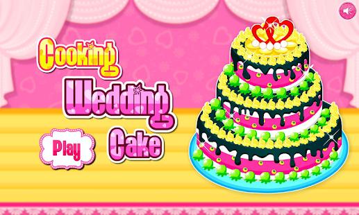 Cooking wedding cake - náhled