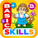 Preschool Learning Games Kids with Abby Monkey icon