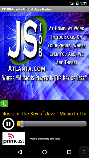 JS108Atlanta Global Jazz Radio