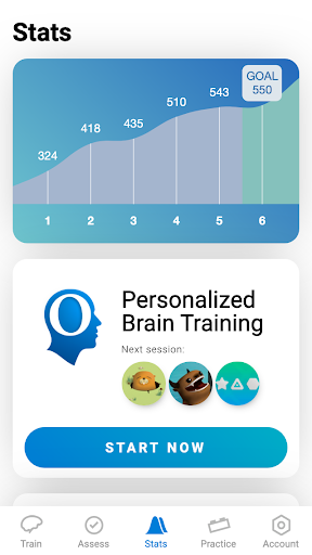 CogniFit Brain Fitness 4.1.3 screenshots 1