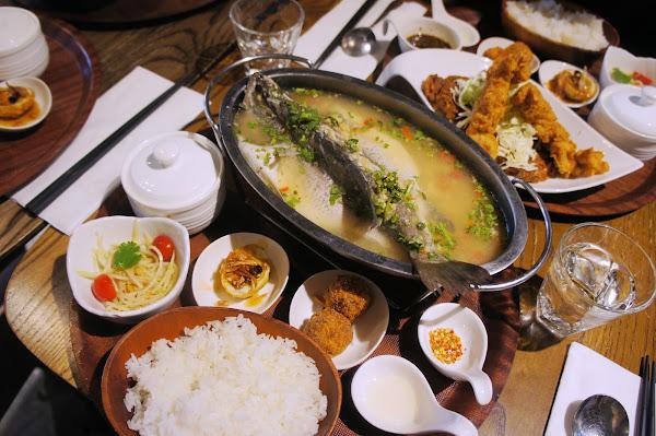 THAIHAND 右手餐廳-公館新潮美味大份量泰式定食 一個人也能吃檸檬魚