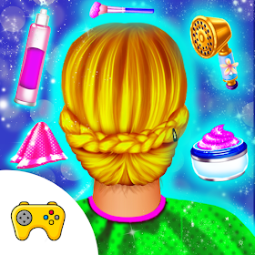 Wedding Princess Hair Design Dressup makeup Game
