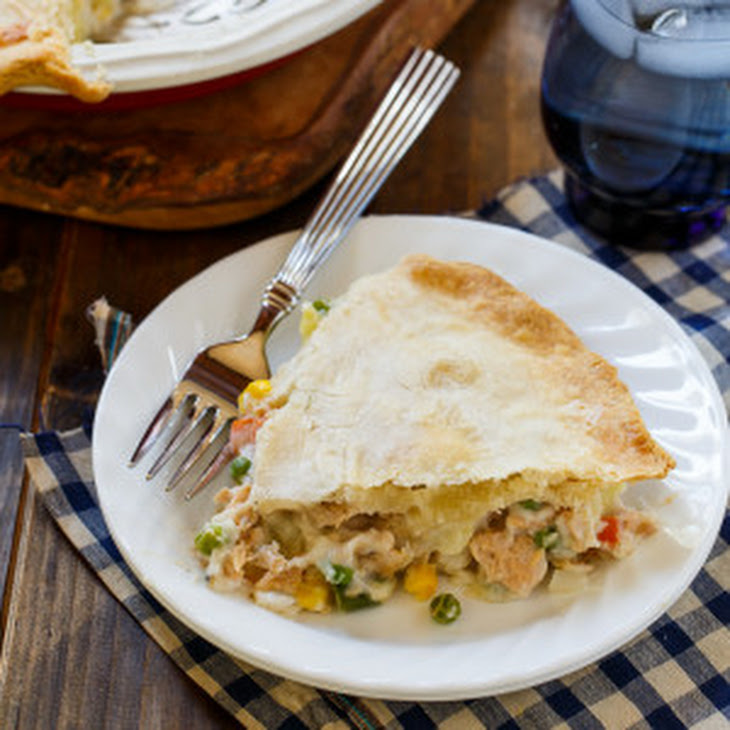 Salmon Pot Pie Recipe