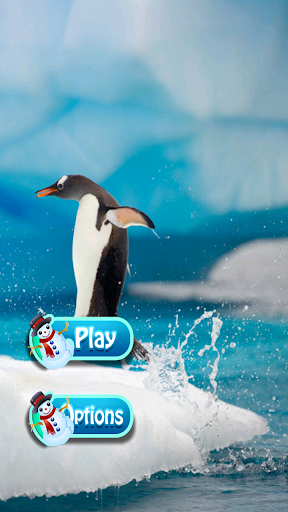 Snow Penguin Cut Rope