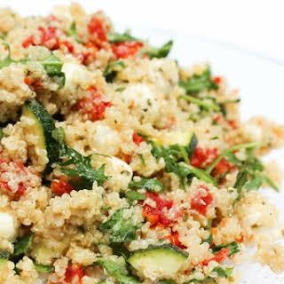 Italian Quinoa Salad.