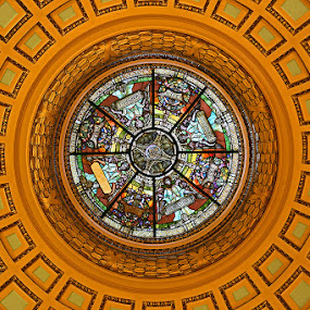 Bergen County Courthouse, New Jersey by Herb Houghton - Buildings & Architecture Public & Historical ( bergen county courthouse, ceiling, herbhoughton.com, courthouse )