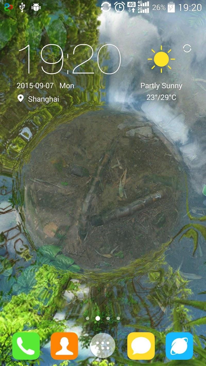 Water Garden Live Wallpaper Screenshot