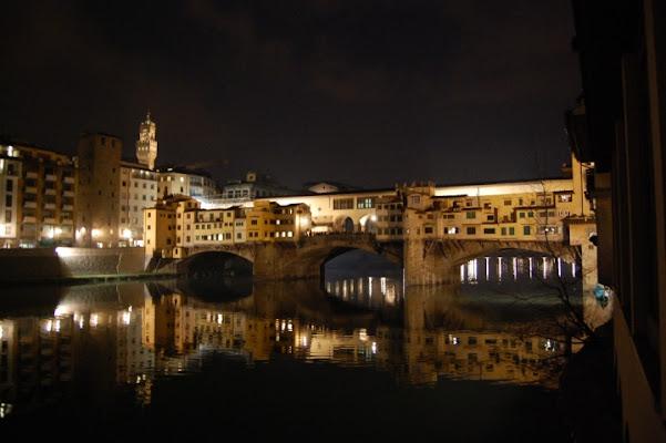 Ponte Vecchio ..... una sera di andreabresci