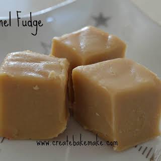Christmas Baking – Caramel Fudge.