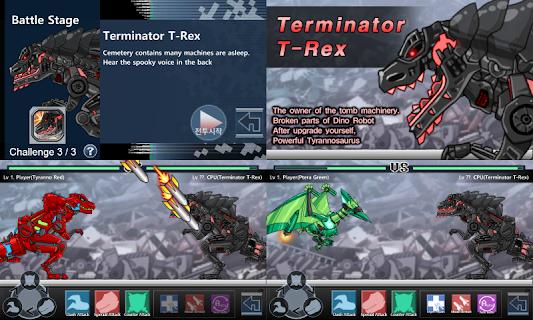 Dino Robot Battle Field screenshot 01