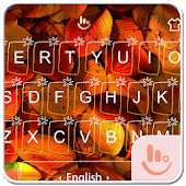 Autumn With Energy Keyboard Theme