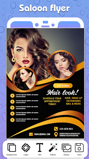 Foto do Flyers, Posters, Ads Page Designer, Graphic Maker