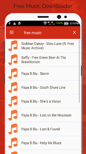 Free Music Downloader - Mp3 Download  screenshots 2